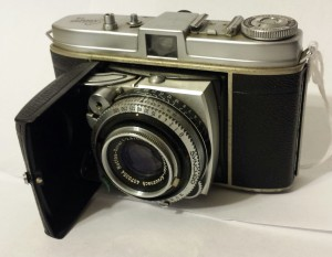 The Retina Ib Type 018. The lens folds out. 1954-1957