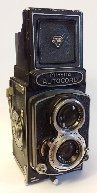 The Minolta Autocord is a pretty TLR.