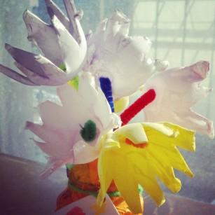 My favorite egg-carton bouquet!