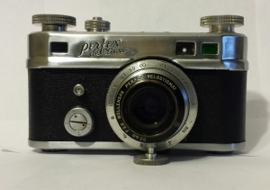 Also a coupled range finder camera.