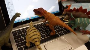 Last year, DINOvember and NaNoWriMo briefly crossed paths.