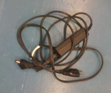 A laptop charger. Because I brought that laptop today.