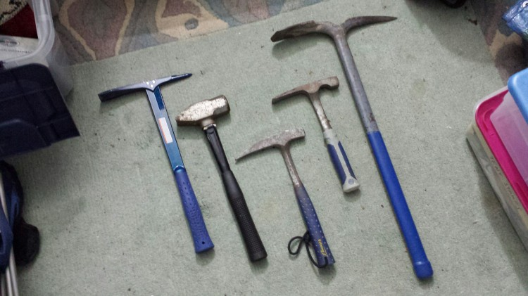 These five hammers will definitely be going to the field with me.