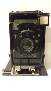 The lens of the Haeg II camera.