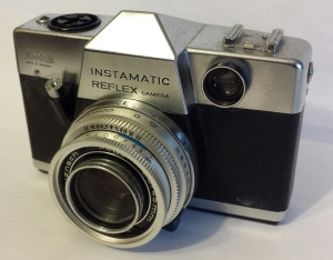 Almost all Instamatics were simple view-finder cameras, but the Instamatic Reflex was an SLR.