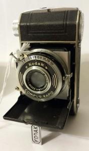 The Retina I Type 126.  A tiny bellows camera for 35mm film. 1936-1937