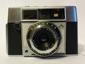 The coupled rangefinder meant you focused as you measured the range.