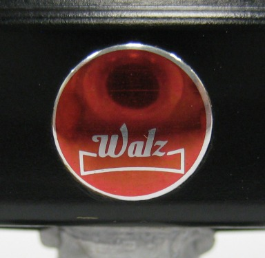 Shiny and red. Walz is a company in Japan.