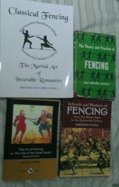 I seem to like fencing...