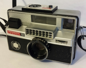 The Instamatic 704 took flash cubes
