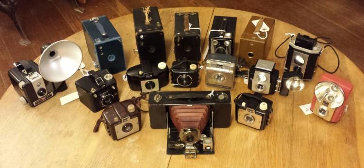 Every one is a Kodak Brownie.