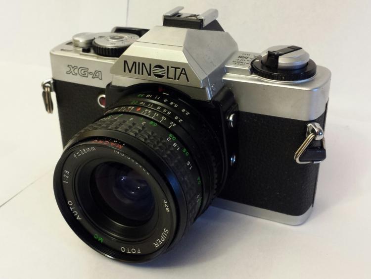 The Minolta XG-A