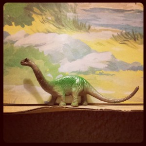 Typical dinosaurian fare - if a little dated.