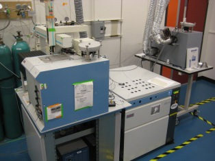 The mass spectrometer. I spend too much time in here.