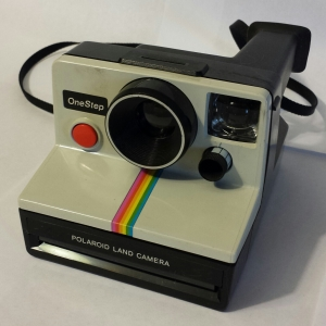 The Polaroid One Step.
