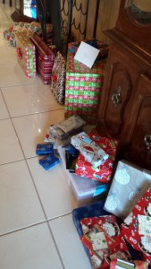 Presents ready and waiting.