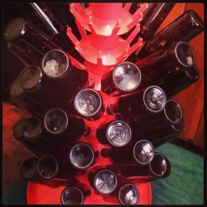 Sanitized bottles