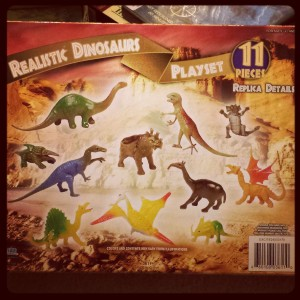 Are you sure those are all dinosaurs?