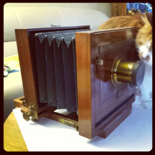 The Scoville Elite View Camera made in the late 1800's