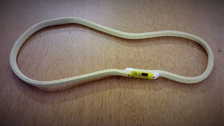 A pre-fab autostop cord. You can also make one with a short length of cord and a good knot.