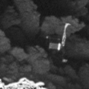 Close up of Philae. Credit: ESA