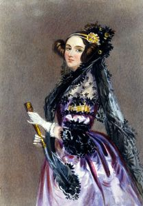 Ada Lovelace, painted by Alfred Edward Chalon in 1839
