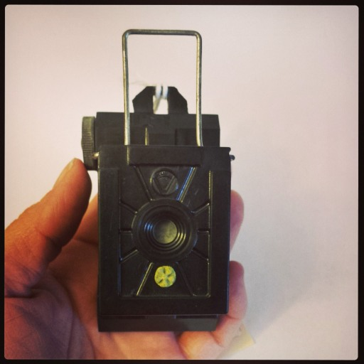 Here's the Univex Model A camera. There were quite a number of different versions of this simple-yet-elegant camera.