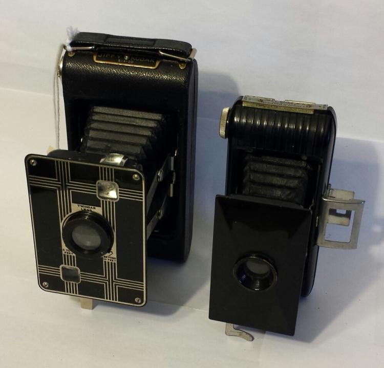 Two Jiffy Kodaks