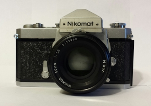 The Nikomat lacked a lot of the professional features of the Nikon F camera