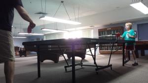 Ping-pong war.