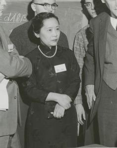 Chien-Shiung Wu at Columbia University in 1958