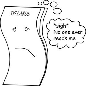 sad syllabus is sad